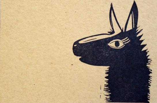 llama-postcard